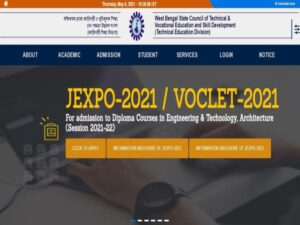 Jexpo And Voclet Online Form fillup